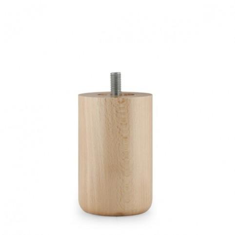 Pieds Finition Bois - N°43 - 10 cm