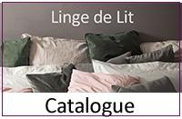 Catalogue Linge de lit